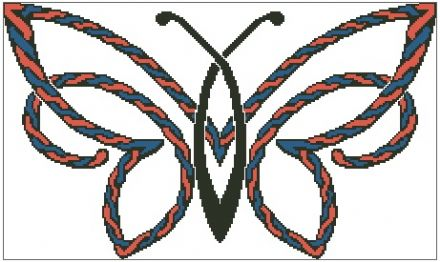 Celtic Rope Butterfly